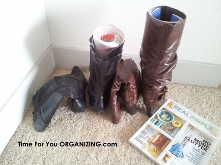 Organize & Store Your Boots