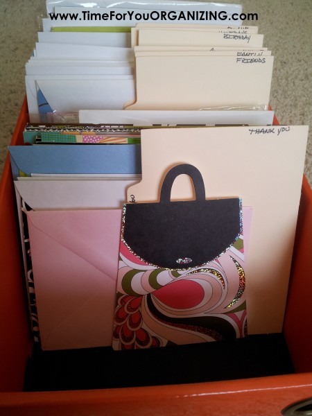 Organize Your Cards & Stationary