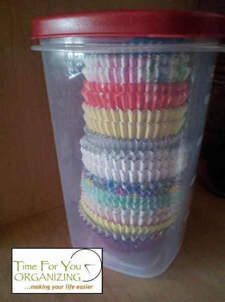 Organize Your Baking Supplies