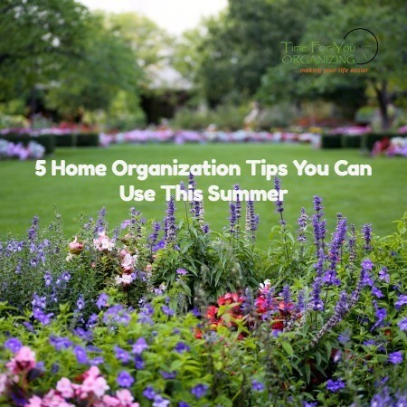 Summer Organization Tips
